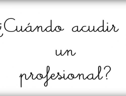 ¿Cuándo acudir a un profesional?