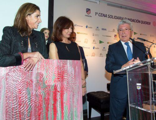 Enrique Cerezo, premiado por la Fundación Querer