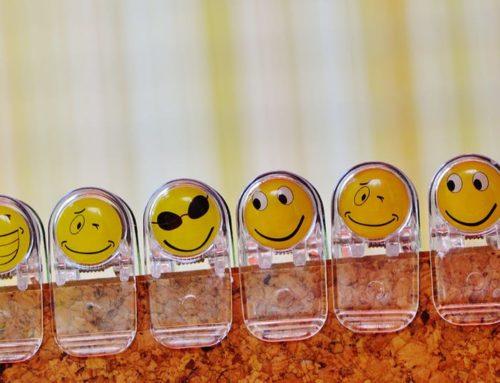 Material para reconocer emociones por lenguaje corporal.