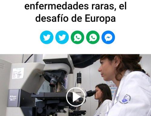 Insieme/Juntos: las enfermedades raras, el desafío de Europa