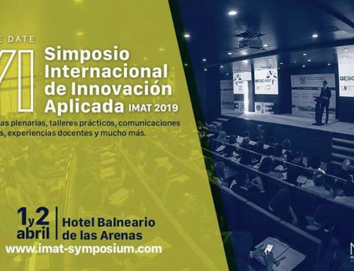 """La Fundación Querer a través de su proyecto educativo """" El cole de Celia y Pepe"""" participará en el VI Simposio Internacional de Innovación Aplicada – IMAT 2019"""