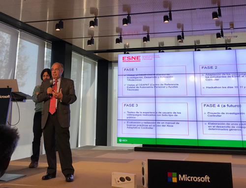 La FundaciónQuerer y el Dr. Tomás Ortiz junto con la colaboración de ESNE presentan en Microsoft un adelanto de su proyecto