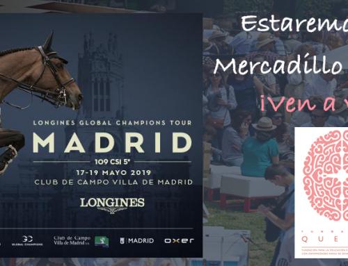 Madrid se convierte de nuevo en referencia mundial de la hípica con la llegada del Longines Global Champions Tour al Club de Campo y la Fundación Querer estará allí