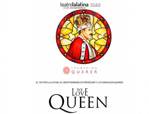 """Carme Chaparro, madrina en el estreno benéfico de """"We love Queen"""""""