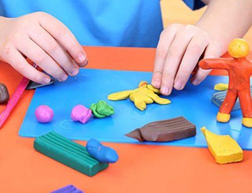 4 Ideas para jugar con plastilina
