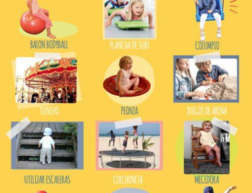 12 Actividades vestibulares para hacer en casa