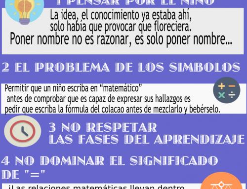 5 ERRORES AL ENSEÑAR MATEMÁTICAS