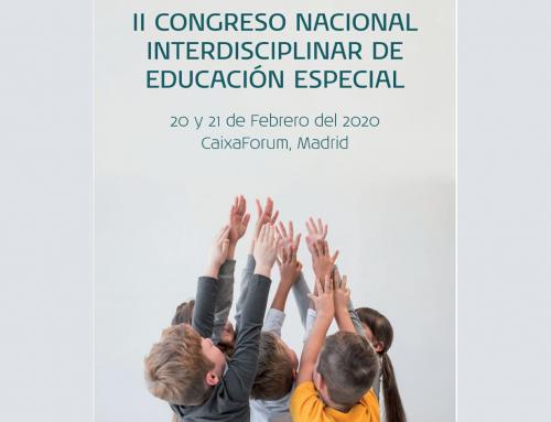 II Congreso Nacional Interdisciplinar de Educación Especial