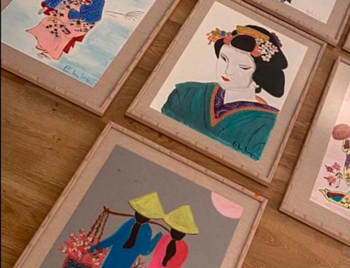 Éxito total en la exposición «el arte de querer» de Eugenia Martínez de Irujo