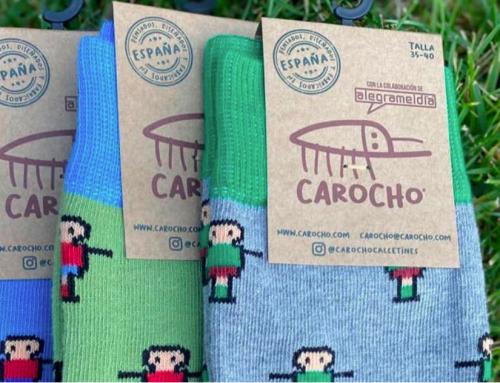 Carocho, la marca de calcetines 100% solidarios y españoles que dan color a tus pies