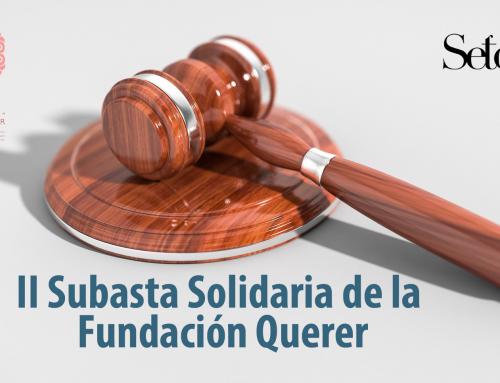 II Subasta Solidaria de la Fundación Querer