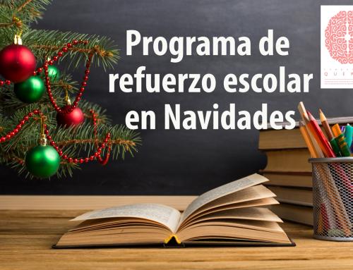 Programa de refuerzo escolar en navidades