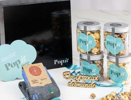 El regalo más especial y solidario para el Día del Padre de Palomitas Popit y la Fundación Querer