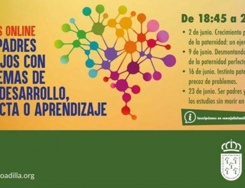 La Fundación Querer impartirá los Talleres para padres en el Ayuntamiento de Boadilla del Monte este mes de Junio.
