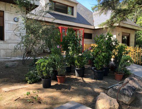 La empresa Obras y Servicios Taga SA dona sus servicios a la Fundación Querer para la realización de un huerto y un jardín para los alumnos del Cole de Celia y Pepe. Cristina Tárrega ha amadrinado dicha donación