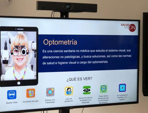 """Cristina San Juan """"La Optometría es fundamental para determinar si el nervio óptico de los niños con enfermedades neurológicas es inmaduro"""""""