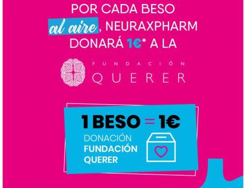 Neuraxpharm junto con la Fundacion Querer lanzan  la tercera edición del reto solidario 'Un beso por la salud mental'
